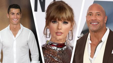 Nejlépe placené celebrity za rok 2019