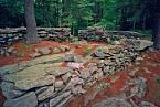 Rozvaliny se rozprostírají naploše přes 12 hektarů.