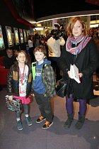 Ester Geislerová s dětmi