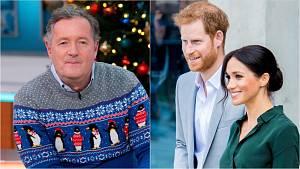 Princ Harry, Meghan a Piers Morgan