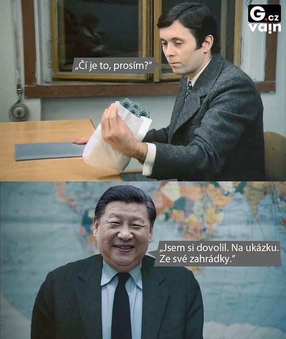 Koronavirus dorazil z Číny.