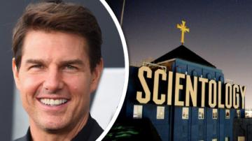 Tom Cruise Scientologická církev