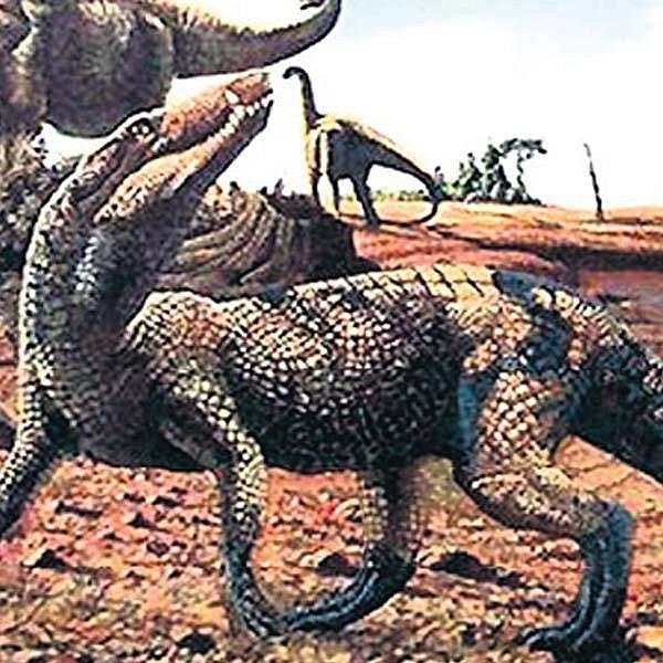 Doménou pravěkých krokodýlů byla souš.