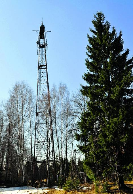 Ztohoto vysílače rozhlasová stanice patrně vysílala.