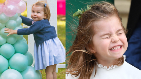 Princezna Charlotte slaví 5. narozeniny