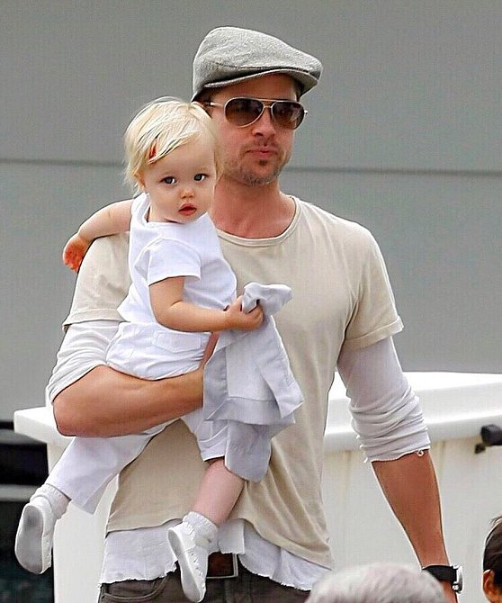 Shiloh Jolie-Pitt s Bradem.