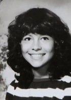 Jako patnáctiletá na fotce ze školy.