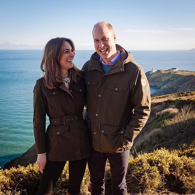Kate Middleton a Princ William při návštěvě Irska.