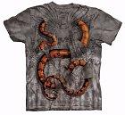 Had, který se vám dere skrz tričko, bude vypadat opravdu cool.