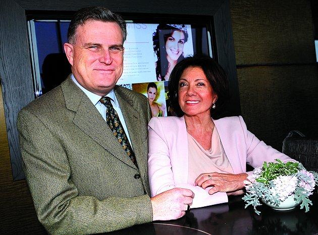 Marie Rottrová aMilan Říha