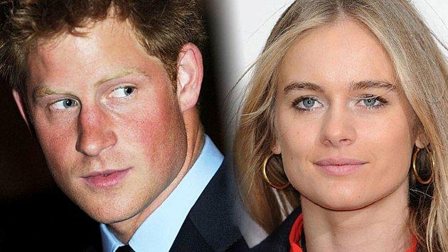 Konec. Princ Harry a jeho přítelkyně Cressida Bonas se rozešli.