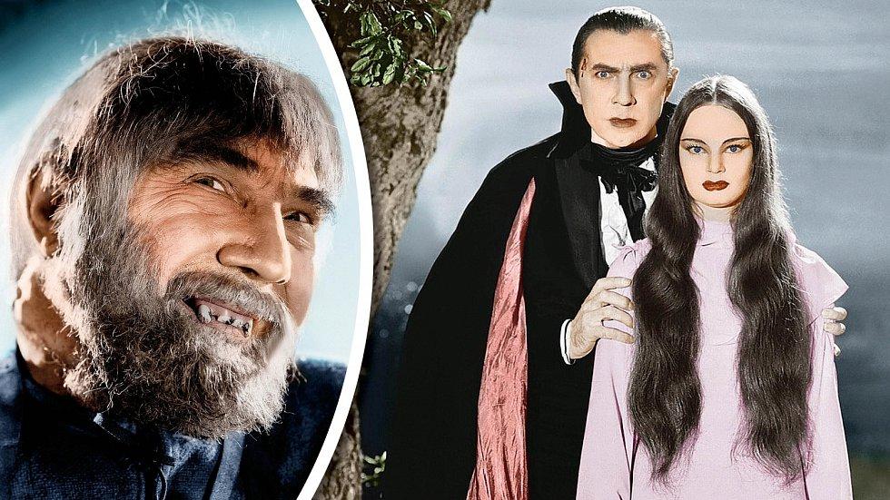 Drákulu hrál často, například vhororu Mark of the Vampire. Stejně tak s oblibou ztvárňoval i další monstra.