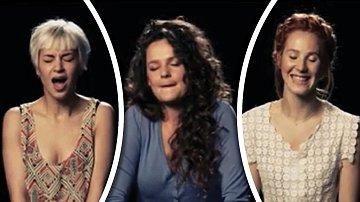 Trojice žen si možná myslela, že zpívat při orgasmu bude lehčí, než tomu bylo ve skutečnosti.