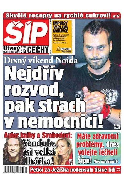 Titulka 16. 12. 2008