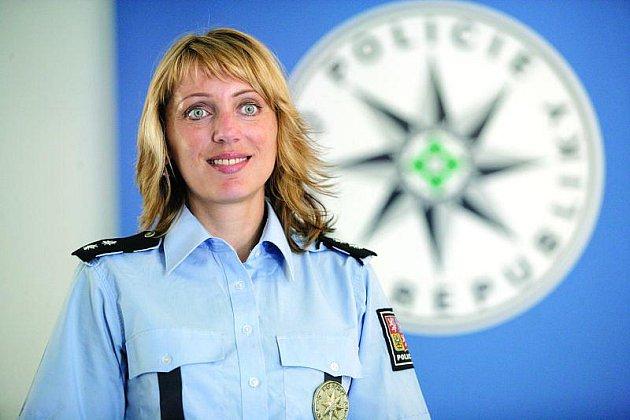 Policejní tisková mluvčí zPrachatic Martina Joklová