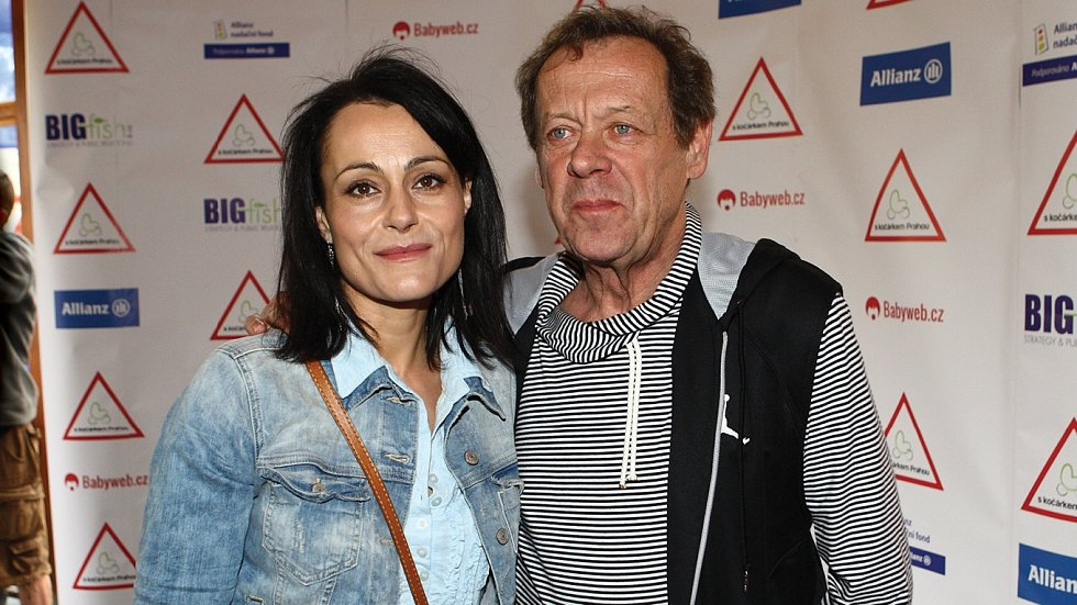 Vendulka Křížová s manželem Oldřichem Víznerem
