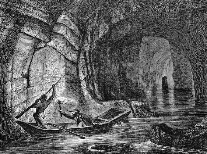 Odvážlivci prozkoumávali podzemí celé 19. století.