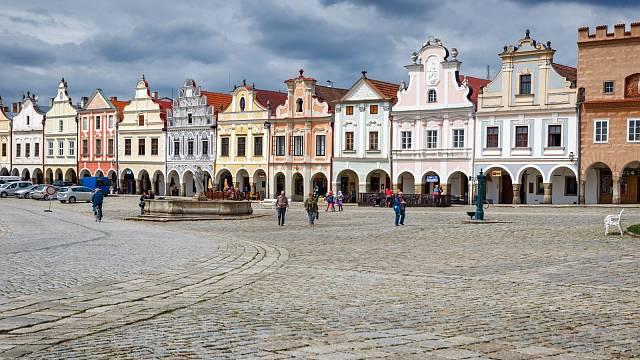 Renesanční náměstí Zachariáše zHradce okouzlí každého turistu.