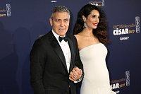 George Clooney a jeho manželka Amal.