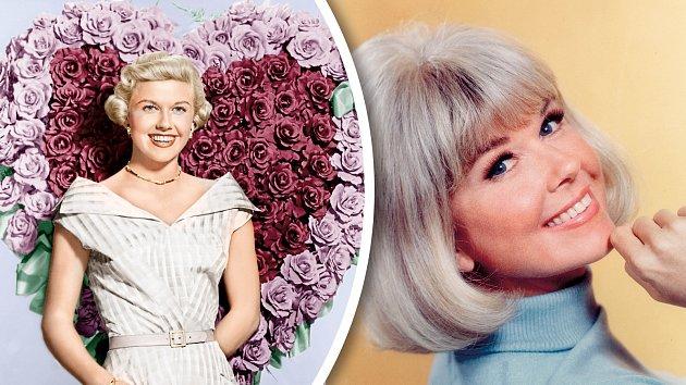 Doris Dayová napočátku a na sklonku kariéry.