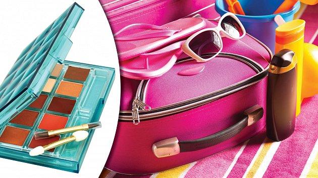Není třeba ssebou tahat velká balení kosmetických přípravků.