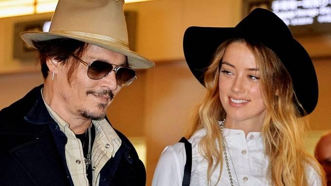 Johhny Depp a Amber Heardová