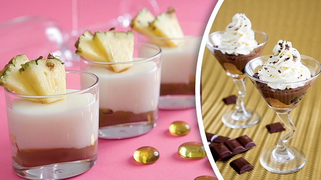 Kokosová pochoutka a zimní truffle