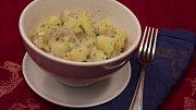 Vídeňský bramborový salát.
