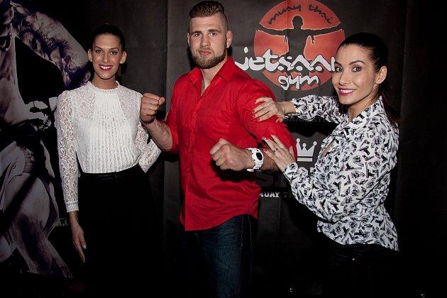 Aneta Vignerová dorazila na galavečer Fusion Fight Night do vyprodané brněnské haly vdoprovodu svého přítele Filipa
