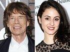 Mick Jagger a Melanie Hamrick, věkový rozdíl 44 let