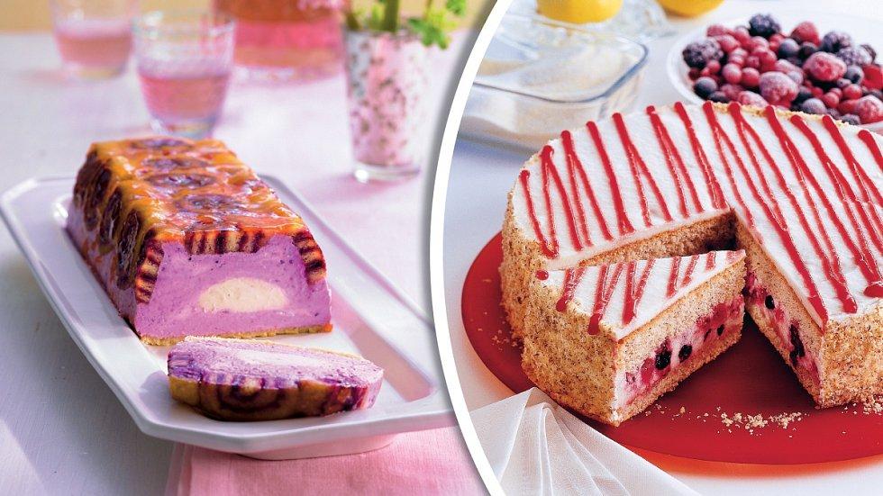 Rybízová šarlota a osvěžující dortík