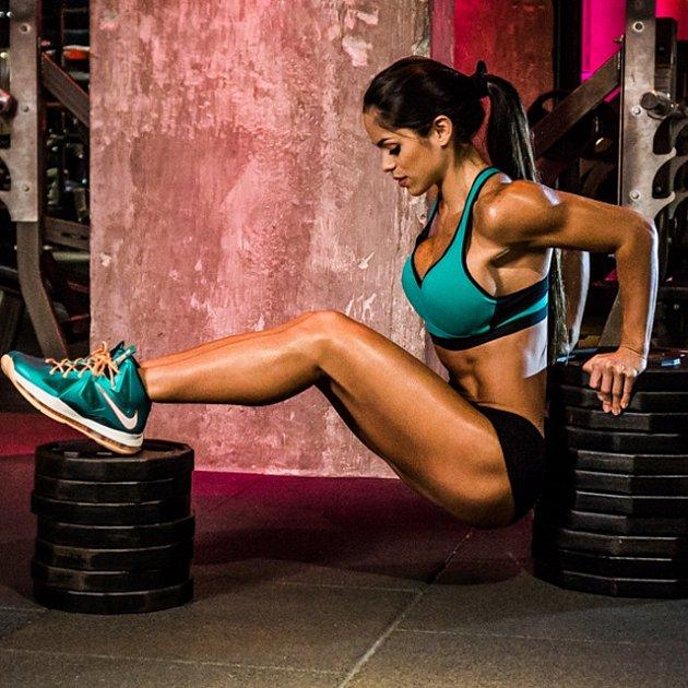 Fitness je její životní vášeň.