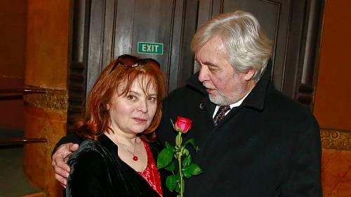 Libuška Šafránková a Josef Abrhám