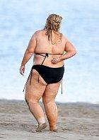 Obézní hvězda z Austrálie má problémy s kolísáním váhy.