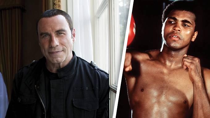 Slavný herec John Travolta si prý užíval i s Muhammadem Alim...