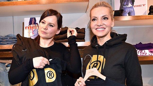 Dara Rolins a Jitka Čvančarová