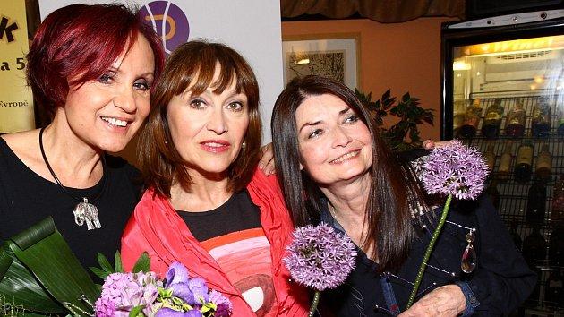 Petra Janů, Petra Černocká a Miluška Voborníková předvedly, že vypadají pořád skvěle.