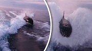 Když vás pronásleduje ryba větší než vaše loď, v klidu asi budete jen těžko...