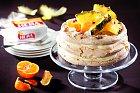 Sněhový dort Pavlova