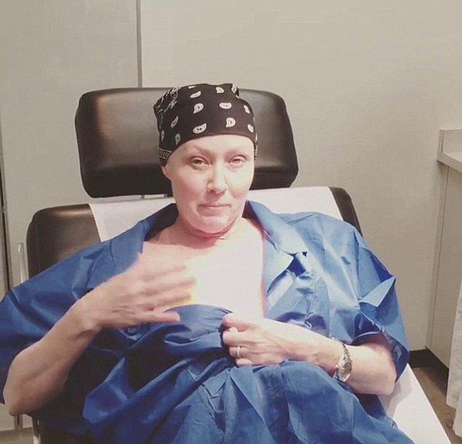 Shannen si s rakovinou vytrpěla své.