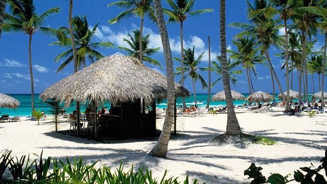 Nádherná pláž Puerto plata v Dominikánské republice. Tam bude radost dovolenkovat
