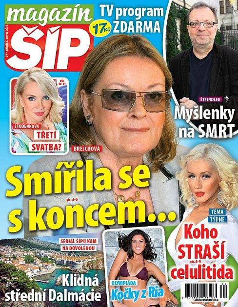Titulní strana Magazínu Šíp 3.8.2016
