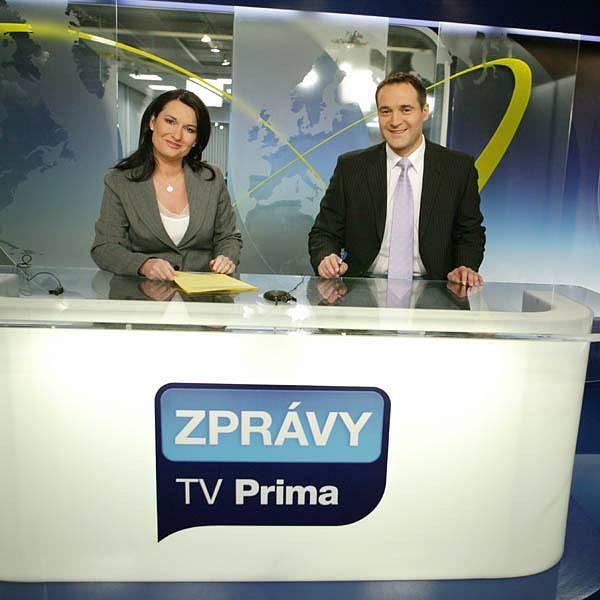 Pavel Zuna a Mirka Čejková spolu dlouhé roky tvořili moderátorskou dvojici.