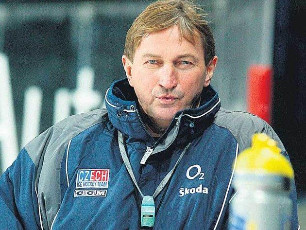 Trenér Hadamczik si v přípravě na šampionát zatím zvesela pohvizduje.