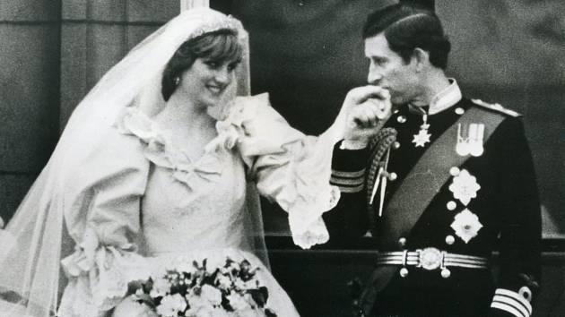Princezna Diana svatba