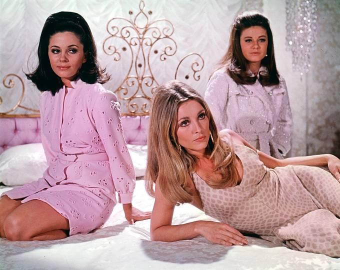 Melodrama Údolí panenek (1967) Sharon už měla jednu zhlavních rolí.