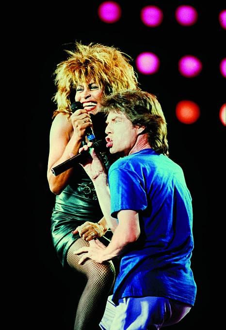 SMickem Jaggerem řádila nejen napódiu, ale také vsoukromí.