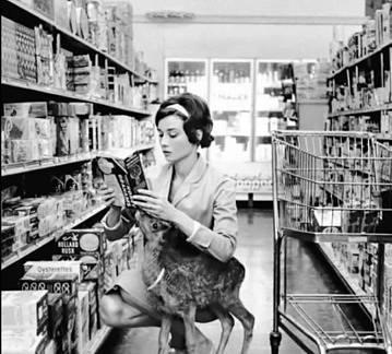 Audrey Hepburn měla za domácího mazlíčka malého srnečka