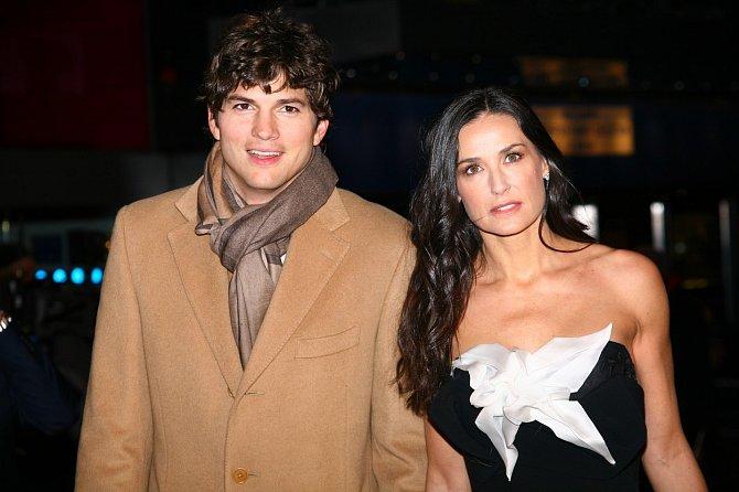 Vztah s Ashtonem Kutcherem provázelo mnoho bolesti.