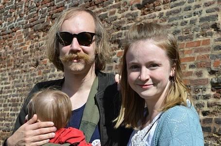 Marie Doležalová s rodinou